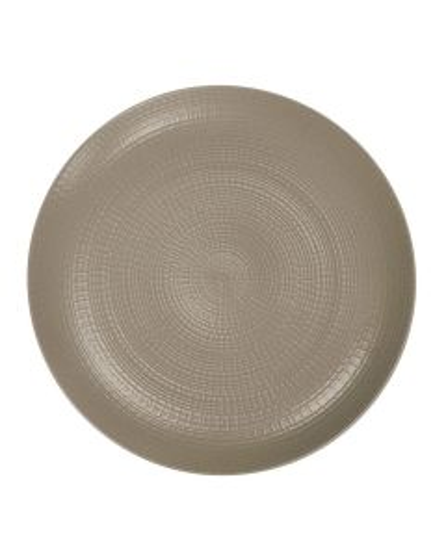 Round dinner plate 28 cm