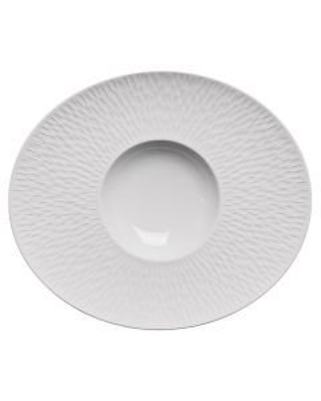 Oval gourmet plate 32x27 cm