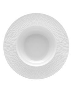 Round soup/pasta bowl with rim 29 cm