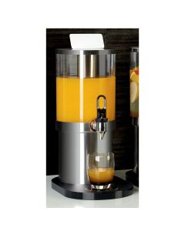Juice dispenser mirror finish 20x32x45 cm