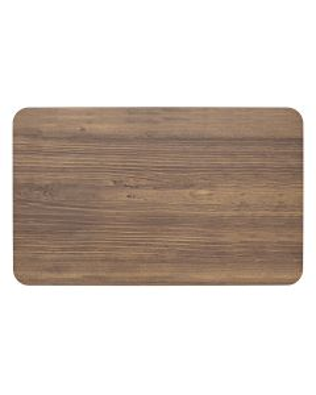 Wood melamine gn 1/1 tray 53.5x32.5 cm