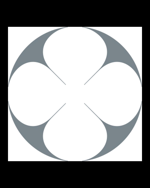 Stone melamine round tray 32 cm